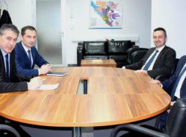 Ambasador Kuvajta posjetio Službu za poslove sa strancima