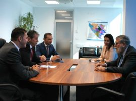 Director of  ICITAP visited Service for Foreigners' Affairs