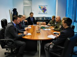 Visit of EUFOR Commander to the Service of Foreigners' Affairs