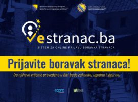 WE CALL ALL LEGAL ENTITIES AND NATURAL PERSONS WHO OFFER ACCOMMODATION SERVICES TO FOREIGNERS TO REGISTER FOR USAGE OF SYSTEM ' E STRANAC'