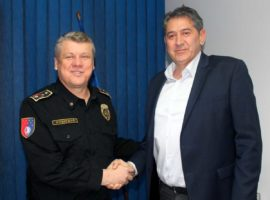 Commissioner of Head Police Sarajevo Canton Ministry of Interior visited Service for Foreigners' Affairs
