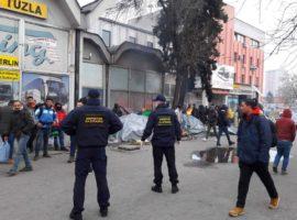 Izmješteni migranti iz urbanih dijelova Tuzle