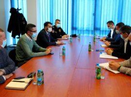 Sastanak u Službi za poslove sa strancima sa predstavnicima MUP-a KS i MUP-a USK-a