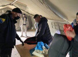 Služba je provela aktivnosti izmještanja migranata iz napuštenih objekata u užem području grada Bihaća