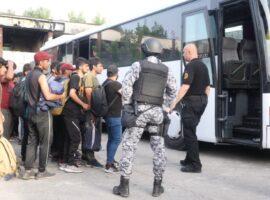 Iz objekta Krajina metala u Bihaću izmještena 253 migranta