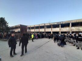 Izmještanje migranata iz napuštenih objekata na području Bihaća