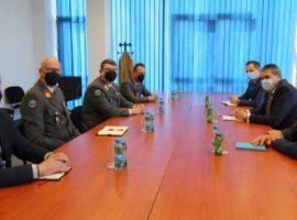 Posjeta predstavnika EUFOR-a Službi za poslove sa strancima