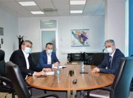Nastupna posjeta direktora Agencije za forenzička ispitivanja i vještačenja Službi za poslove sa strancima