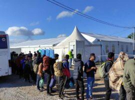 Izmješteno 255 migranata sa četiri lokacije na području grada Bihaća
