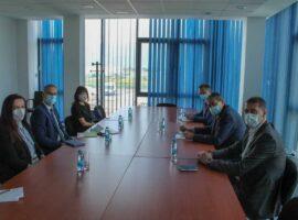 Posjeta specijalnog predstavnika generalnog sekretara Vijeća Evrope za migracije i izbjeglice Službi za poslove sa strancima